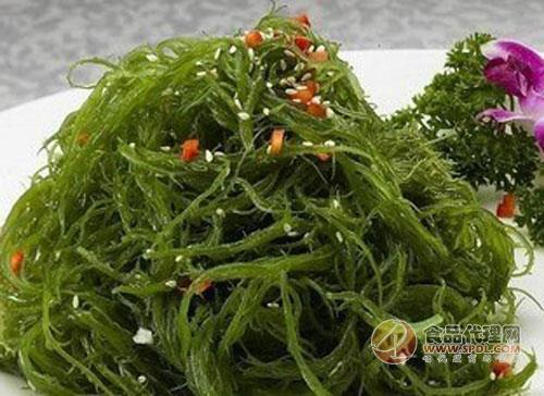 海藻长什么样的图片