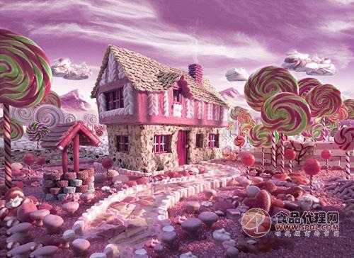 食材打造出梦幻童话世界