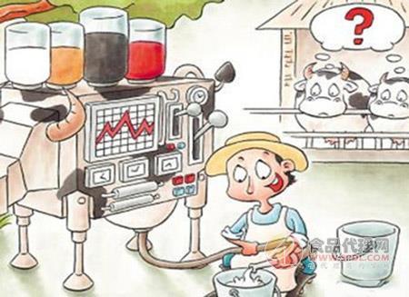 饮料手绘漫画图