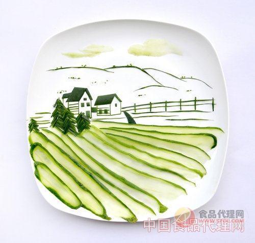 快来看看艺术家们如何将食物摆盘成为艺术品的吧! 美食婚纱照
