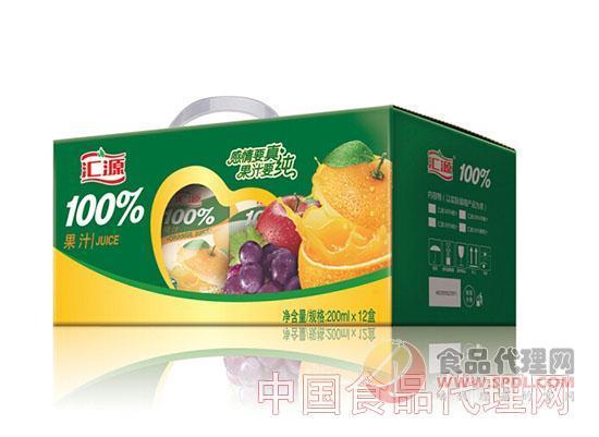 汇源100%橙汁200ml*12盒 礼盒装