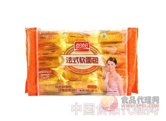 盼盼法式软面包 香橙味 300g