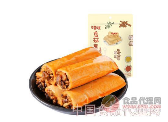 百草味香菇豆卷