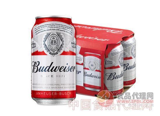 百威小麦啤酒拉罐
