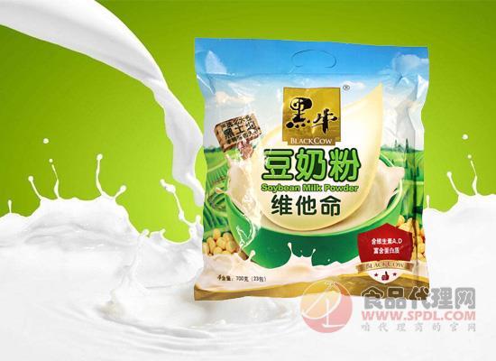 黑牛豆奶粉价格是多少