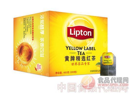 立顿茶叶 黄牌精选红茶