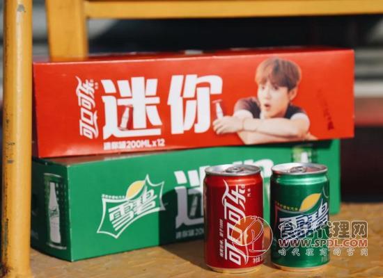 百事和可口可乐推迷你罐,撬动你的萌点了吗?