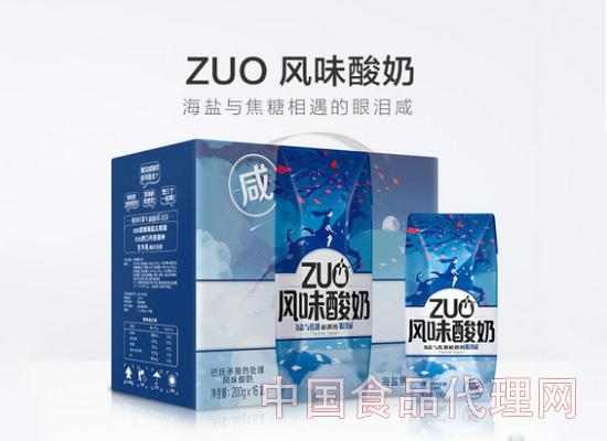 蒙牛ZUO风味酸奶