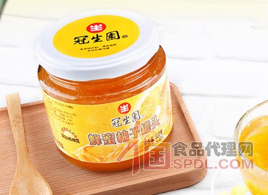 冠生园蜂蜜柚子罐头的价格