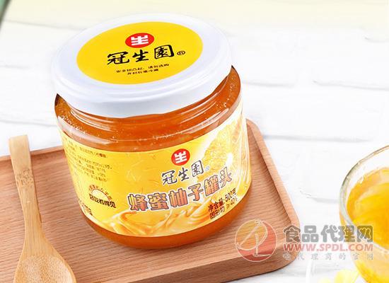 冠生园蜂蜜柚子罐头的价格是多少?