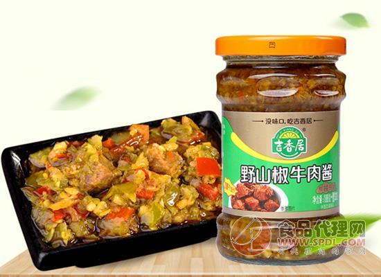 吉香居野山椒牛肉酱多少钱一瓶?