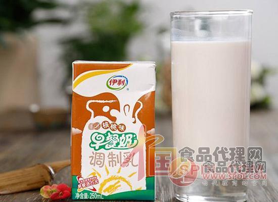 伊利早餐奶