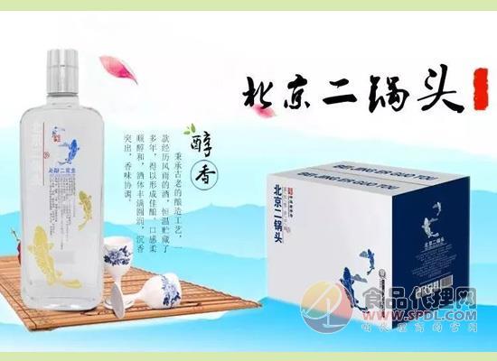 北京二锅头:用一瓶白酒,带来一个全新的市场!