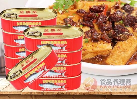 方便速食享受美味,金樱花豆豉鱼罐头价格多少?