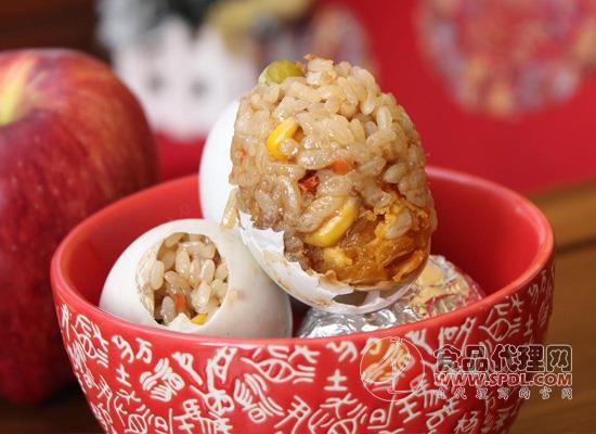 土豪式的鸭蛋吃法,糯米咸鸭蛋的做法了解一下!