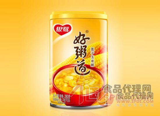 银鹭莲子玉米八宝粥