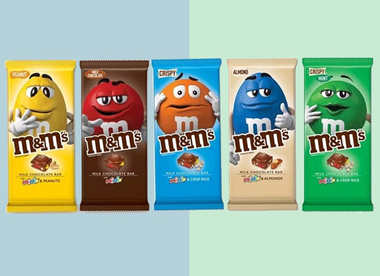 玛氏推出首款巧克力棒,满足日益增长的消费者需求