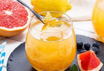 蜂蜜柚子茶饮品