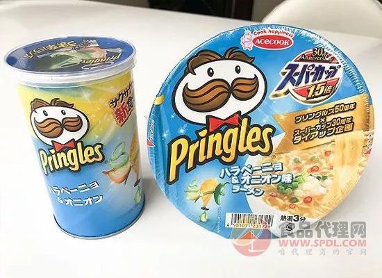 薯片味的泡面和泡面味的薯片你更like哪一个?食品界创新无止境!