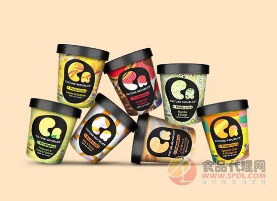 联合利华花样推新,益生菌冰淇淋让你为艺术献身!