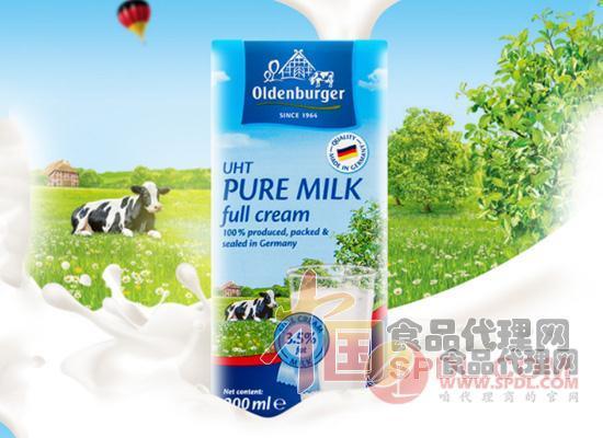 欧德堡全脂牛奶