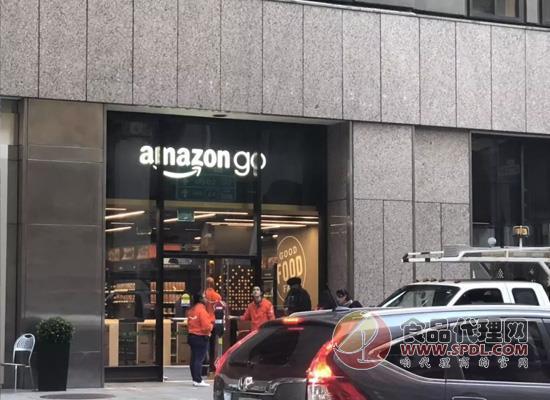 """有人想在亚马逊无人超市""""偷""""东西?成功率为零!"""