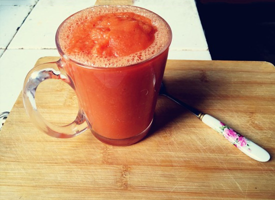 番茄苹果汁的做法是什么?怎样让番茄苹果开启曼妙之旅?