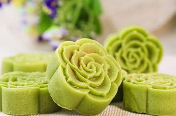 冰皮绿豆糕
