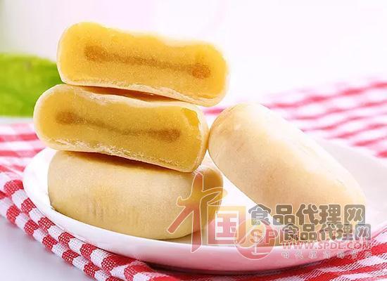 百草味榴莲饼