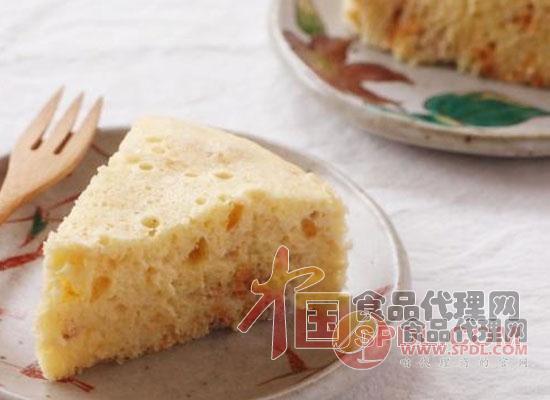 肉松蒸蛋糕
