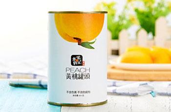 水果四季黄桃罐头