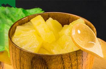 菠萝水果罐头