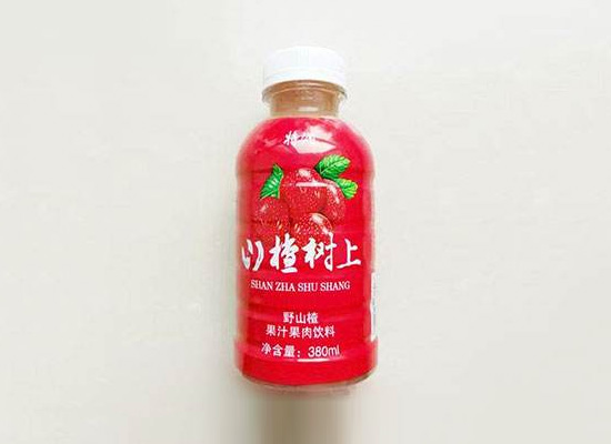 饮料市场被贴健康标签,山楂汁作为新品类顺势而起!