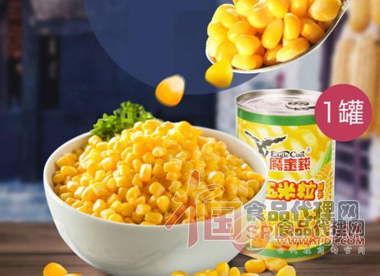 鹰金钱甜玉米罐头
