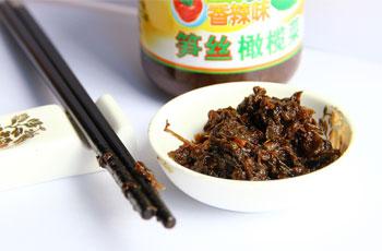 笋丝橄榄菜