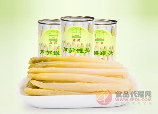 锁住芦笋的新鲜营养,立兴芦笋罐头价格多少?