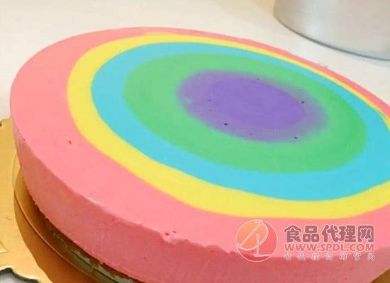 了解彩虹慕斯蛋糕的做法,把彩虹慕斯蛋糕的甜美带回家!