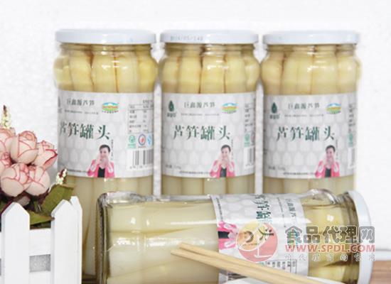 美味佳肴从罐出,巨鑫源芦笋罐头价格多少?