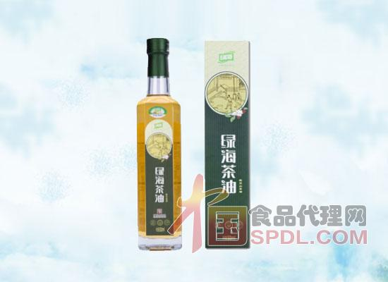 绿海山茶籽油