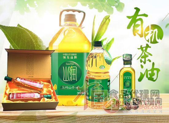 山润山茶籽油