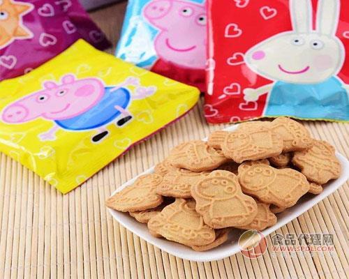 小猪佩奇饼干销量成倍增长,名副其实的