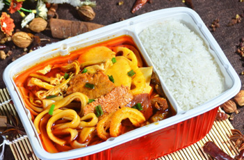 方便自热米饭