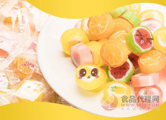缤纷口味,好吃不会腻!锦大水果糖价格多少