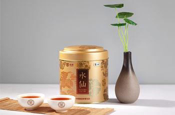 中茶水仙茶