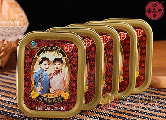 潘高寿无蔗糖润喉糖多少钱一盒?