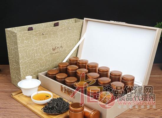 立远小罐茶大红袍礼盒