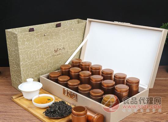 回味茶之醇香,立远大红袍礼盒价格是多少?