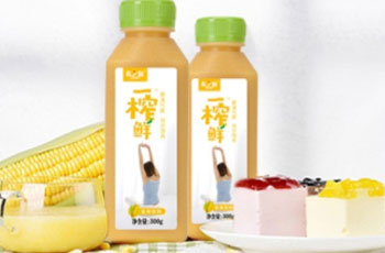 一榨鲜玉米汁饮料