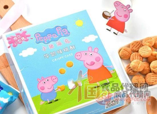 小猪佩奇饼干礼盒