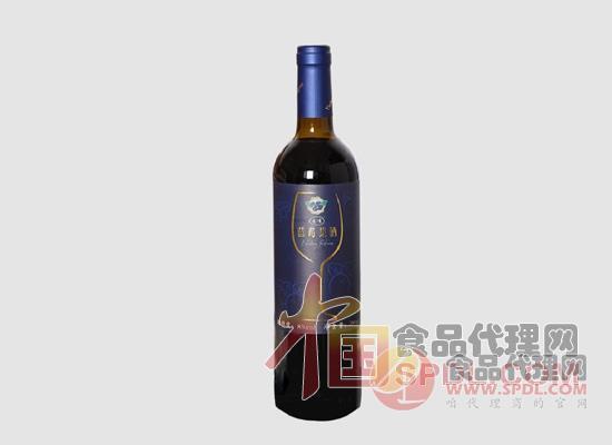 志有野生蓝莓酒